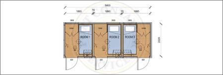 The Kakadu Accommodation Container Adelaide