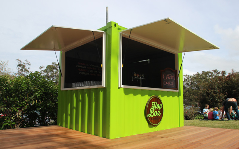 10ft Container Bar